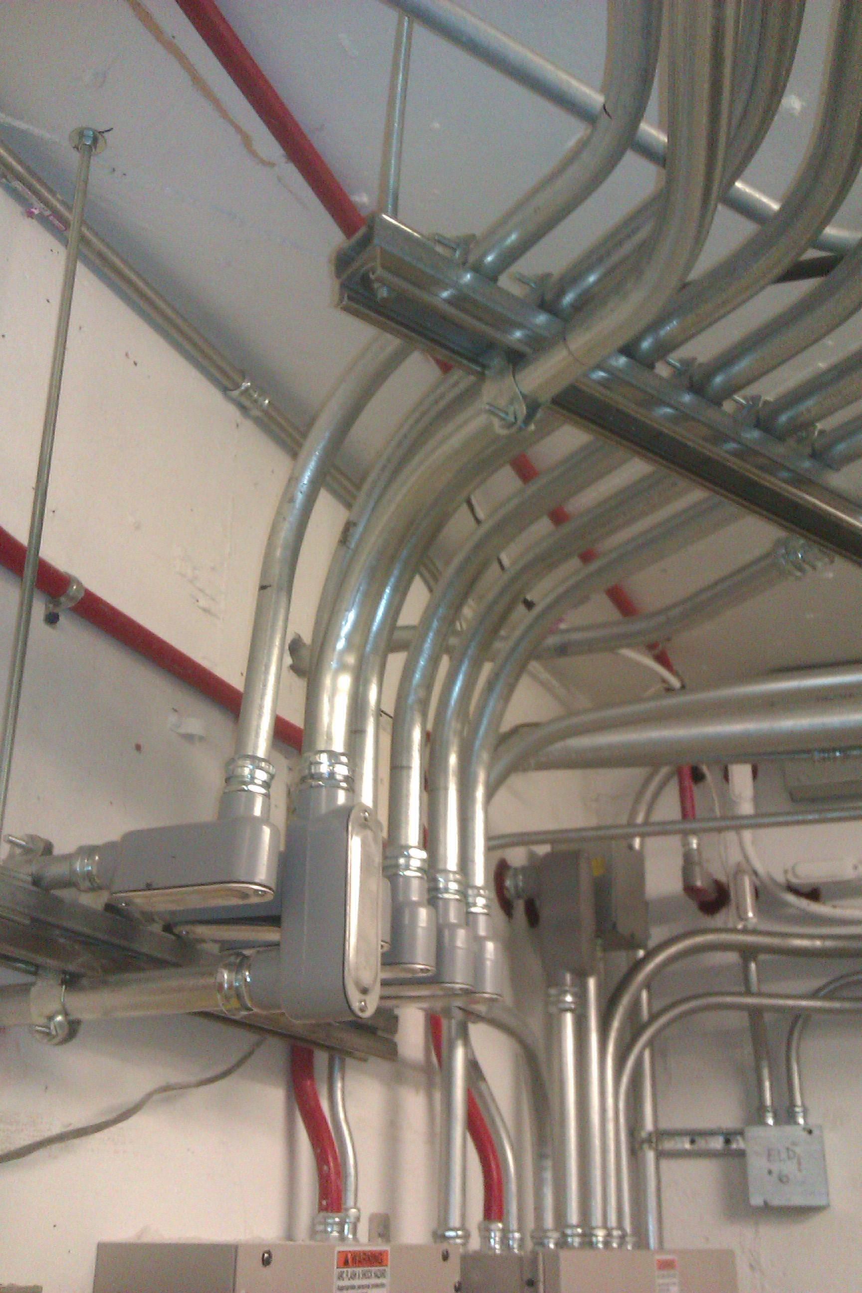 The art of bending conduit